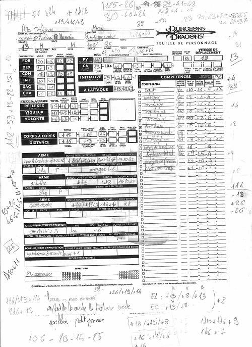 personnage nain pour donjon dragon 3.5 pdf